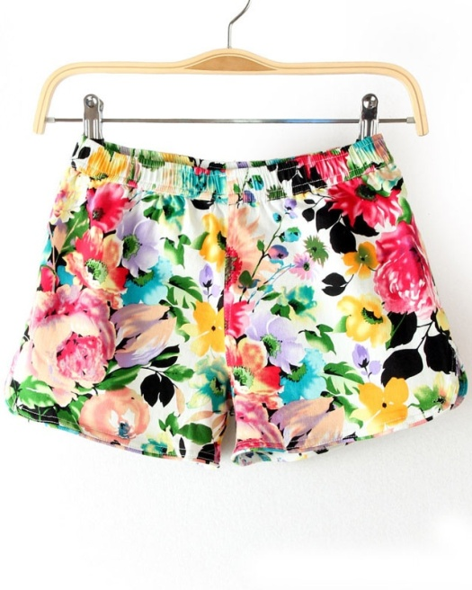 White-Elastic-Waist-Floral-Shorts-p-113953-cat-1740